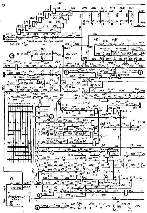 Электрическая схема эт2м.