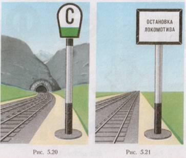 знаками дороги со картинки железнодорожной